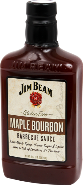 JIM BEAM® MAPLE BOURBON BBQ SAUCE