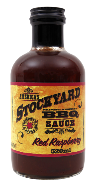 Stockyard Red Raspberry BBQ Sauce