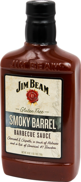 JIM BEAM® SMOKY BARREL BBQ SAUCE