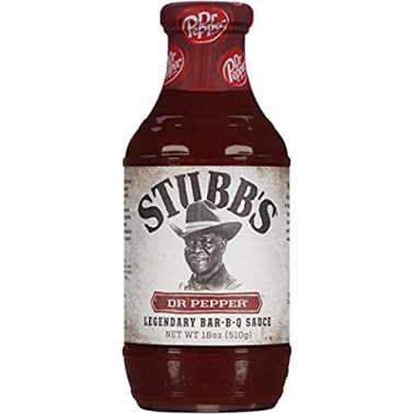 Stubb's DR. PEPPER BAR-B-Q SAUCE